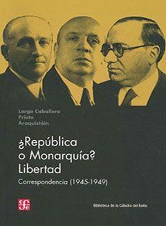 ¿República o Monarquía? Libertad