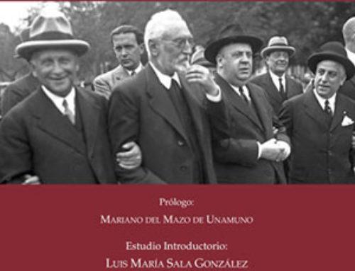 Presentación en Salamanca del libro Miguel de Unamuno-Indalecio Prieto. Correspondencia, 1916-1934
