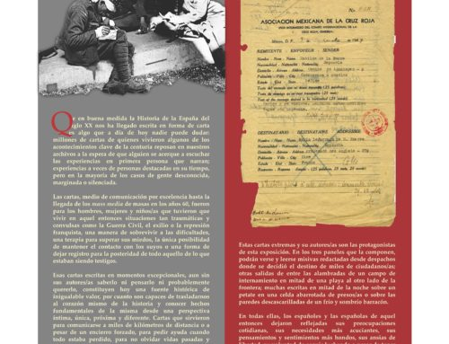 """Exposición """"Epistolarios del extremo: campos, cárceles y exilios en el siglo XX"""""""